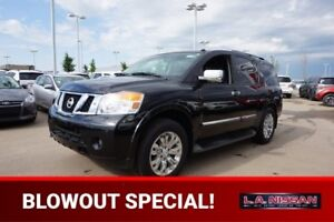 2015 Nissan Armada 4X4 PLATINUM Accident Free,  Navigation (GPS)