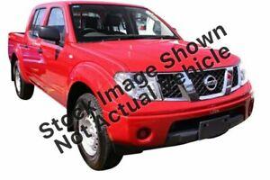 2011 Nissan Navara D40 MY11 RX 4x2 Gold 5 Speed Automatic Utility