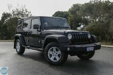 2012 Jeep Wrangler JK MY11 Sport (4x4) Black 4 Speed Automatic Softtop Hillman Rockingham Area Preview