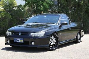 2003 Holden Ute VY SS Black 6 Speed Manual Utility Underwood Logan Area Preview