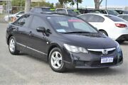 2010 Honda Civic 8th Gen MY10 VTi-L Black 5 Speed Manual Sedan Wangara Wanneroo Area Preview