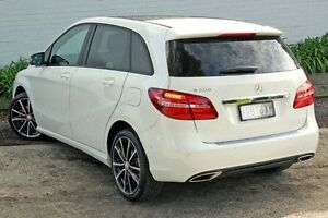 2015 Mercedes-Benz B200 White Sports Automatic Dual Clutch Hatchback Burwood Whitehorse Area Preview