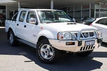 2009 Nissan Navara D22 MY2008 ST-R White 5 Speed Manual Utility Osborne Park Stirling Area Preview