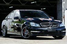 2013 Mercedes-Benz C63 W204 MY12 AMG Black 7 Speed Automatic G-Tronic Sedan Mosman Mosman Area Preview
