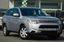 2013 Mitsubishi Outlander ZJ MY13 ES 4WD Silver 6 Speed Constant Variable Wagon Wavell Heights Brisbane North East Preview