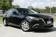 2014 Mazda 3 BM5278 Maxx SKYACTIV-Drive Black 6 Speed Sports Automatic Sedan Springwood Logan Area Preview