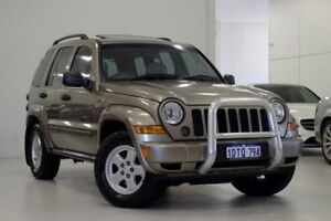 2007 Jeep Cherokee KJ MY2006 65th Anniversary Beige 5 Speed Automatic Wagon Myaree Melville Area Preview