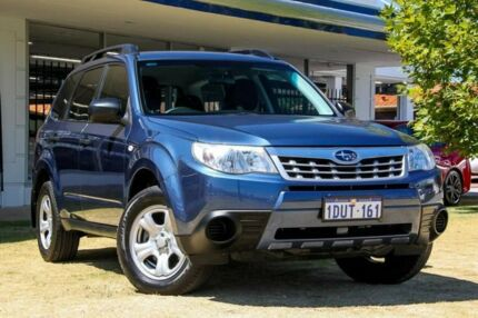 2011 Subaru Forester S3 MY11 X AWD Blue 4 Speed Sports Automatic Wagon Victoria Park Victoria Park Area Preview