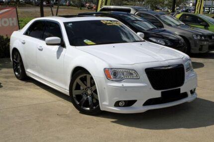 2012 Chrysler 300 LX MY13 SRT-8 Bright White 5 Speed Auto Seq Sportshift Sedan Buderim Maroochydore Area Preview