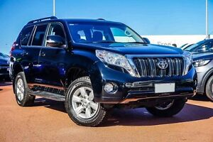 2014 Toyota Landcruiser Prado GRJ150R MY14 GXL Black 5 Speed Sports Automatic Wagon Westminster Stirling Area Preview