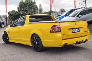 2010 Holden Ute VE II SV6 Yellow 6 Speed Sports Automatic Utility Bayswater Bayswater Area Preview