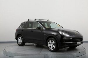 2010 Porsche Cayenne 92A MY11 Diesel Tiptronic Black 8 Speed Sports Automatic Wagon Old Guildford Fairfield Area Preview