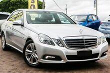 2009 Mercedes-Benz E250 CDI W212 BlueEFFICIENCY Elegance Silver 5 Speed Sports Automatic Sedan Embleton Bayswater Area Preview
