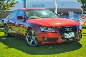 2010 Audi A5 8T MY10 Sportback S tronic quattro Red 7 Speed Sports Automatic Dual Clutch Hatchback Wangara Wanneroo Area Preview