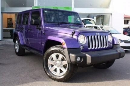 2017 Jeep Wrangler JK MY17 Unlimited Overland Purple 5 Speed Automatic Hardtop