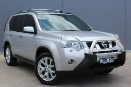 2013 Nissan X-Trail T31 Series V TI Silver 1 Speed Constant Variable Wagon