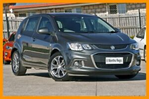 2017 Holden Barina TM MY18 LS Grey 6 Speed Automatic Hatchback Hillcrest Logan Area Preview