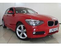 2012 61 BMW 1 SERIES 2.0 118D SE 5DR 141 BHP DIESEL