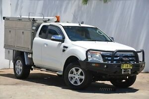 2011 Ford Ranger PX XLT Super Cab White 6 Speed Sports Automatic Utility Blacktown Blacktown Area Preview