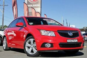 2013 Holden Cruze JH Series II MY13 Equipe Red 6 Speed Sports Automatic Sedan Liverpool Liverpool Area Preview