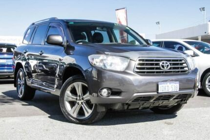 2010 Toyota Kluger GSU40R KX-S 2WD Graphite 5 Speed Sports Automatic Wagon