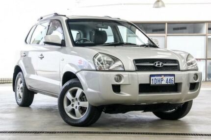 2007 Hyundai Tucson City Silver 4 Speed Auto Selectronic Wagon Cannington Canning Area Preview