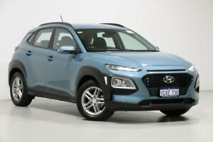 2019 Hyundai Kona OS.2 MY19 Active (FWD) Blue 6 Speed Automatic Wagon Bentley Canning Area Preview