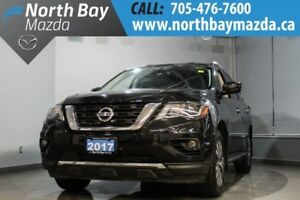 2017 Nissan Pathfinder AWD 7 Passenger with Heated Steering Whee