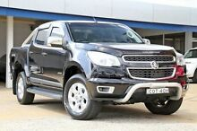 2013 Holden Colorado RG MY14 LTZ Crew Cab Black 6 Speed Manual Utility Greenacre Bankstown Area Preview