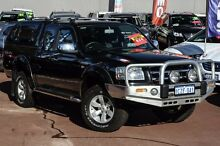2008 Ford Ranger PJ XLT Super Cab Black 5 Speed Automatic Utility Cannington Canning Area Preview