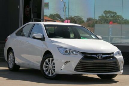 2016 Toyota Camry ASV50R MY15 Altise Diamond White 6 Speed Automatic Sedan