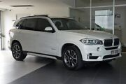 2015 BMW X5 F15 xDrive30d White 8 Speed Sports Automatic Wagon Southport Gold Coast City Preview