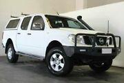 2005 Nissan Navara D40 ST-X DUAL CAB White Automatic Utility Underwood Logan Area Preview
