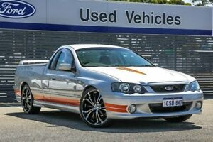2004 Ford Falcon BA XR8 Ute Super Cab Silver 4 Speed Sports Automatic Utility