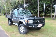 2015 Toyota Landcruiser VDJ79R GXL Graphite 5 Speed Manual Cab Chassis The Gardens Darwin City Preview
