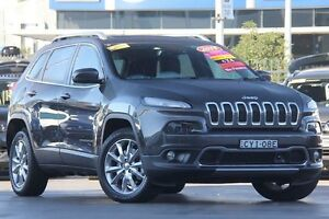 2015 Jeep Cherokee KL MY15 Limited Grey 9 Speed Sports Automatic Wagon Penrith Penrith Area Preview