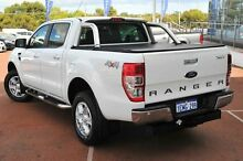 2014 Ford Ranger PX XLT Double Cab White 6 Speed Sports Automatic Utility Wangara Wanneroo Area Preview
