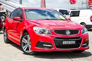2013 Holden Commodore VF MY14 SV6 Red 6 Speed Sports Automatic Sedan Blacktown Blacktown Area Preview