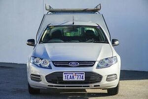 2012 Ford Falcon FG MkII EcoLPi Super Cab Silver 6 Speed Automatic Cab Chassis Bellevue Swan Area Preview