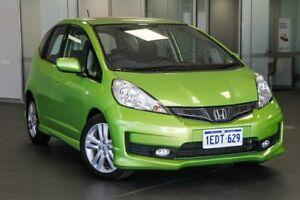 2012 Honda Jazz GE MY12 VTi-S Green 5 Speed Sports Automatic Hatchback