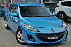 2010 Mazda 3 BL10F1 MY10 Maxx Activematic Blue 5 Speed Sports Automatic Hatchback