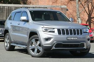 2015 Jeep Grand Cherokee WK MY15 Limited (4x4) Silver 8 Speed Automatic Wagon Zetland Inner Sydney Preview