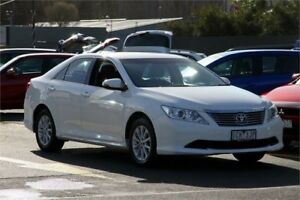 2014 Toyota Aurion GSV50R AT-X White 6 Speed Sports Automatic Sedan Ringwood East Maroondah Area Preview