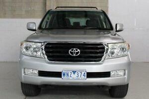 2008 Toyota Landcruiser VDJ200R GXL Silver Sports Automatic Wagon