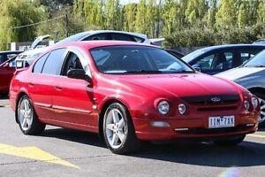 1998 Ford Falcon AU XR6 Red 4 Speed Automatic Sedan Ringwood East Maroondah Area Preview