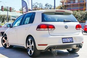 2011 Volkswagen Golf VI MY12 GTI DSG White 6 Speed Sports Automatic Dual Clutch Hatchback Northbridge Perth City Area Preview