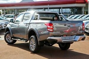2016 Mitsubishi Triton MQ MY16 GLS Double Cab Grey 5 Speed Sports Automatic Utility South Kalgoorlie Kalgoorlie Area Preview