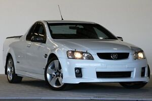 2010 Holden Commodore VE MY10 SS-V White 6 Speed Automatic Utility Coopers Plains Brisbane South West Preview