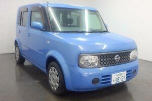 2007 Nissan Cube BZ11 SLOPER Blue Automatic Sedan Cabramatta Fairfield Area Preview