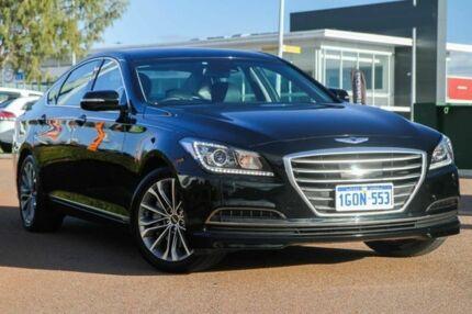 2015 Hyundai Genesis DH Black 8 Speed Sports Automatic Sedan Rockingham Rockingham Area Preview